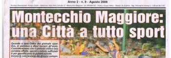 2008 : a Montecchio Maggiore si organizzano i campionati italiani assoluti su pista, con grande successo