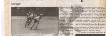 1996 Riapertura del pattinodromo di Alte